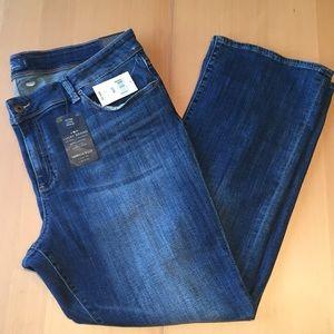 Lucky Brand Georgia Boots Soft Denim size 22W